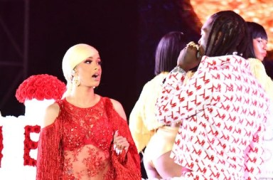 Offset Interrupted Cardi B's Rolling Loud Set With Flowers To Ask For Forgiveness