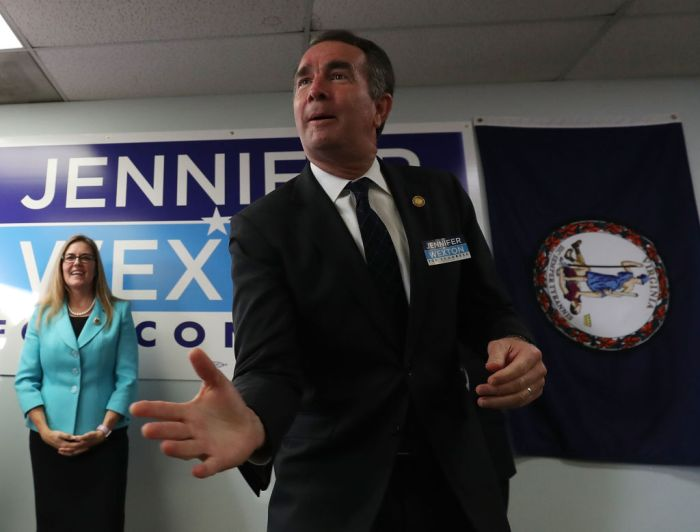 Virginia State Senator Running For Congress Seat Jennifer Wexton Campaigns With Gov. Northam