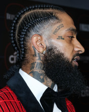 Nipsey Hussle Warner Music Group Pre-Grammy Party