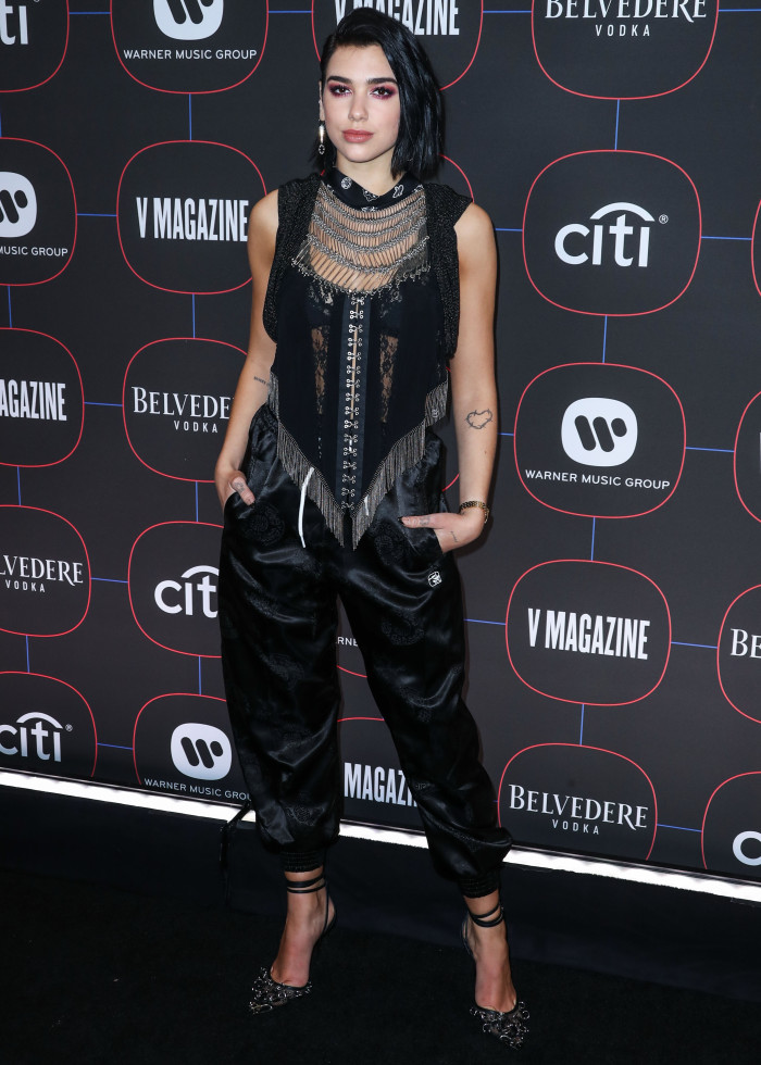 Dua Lipa Warner Music Group Pre-Grammy Party