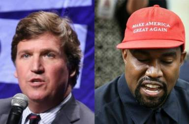 Tucker Carlson Reportedly Told People He Voted For Kanye West
