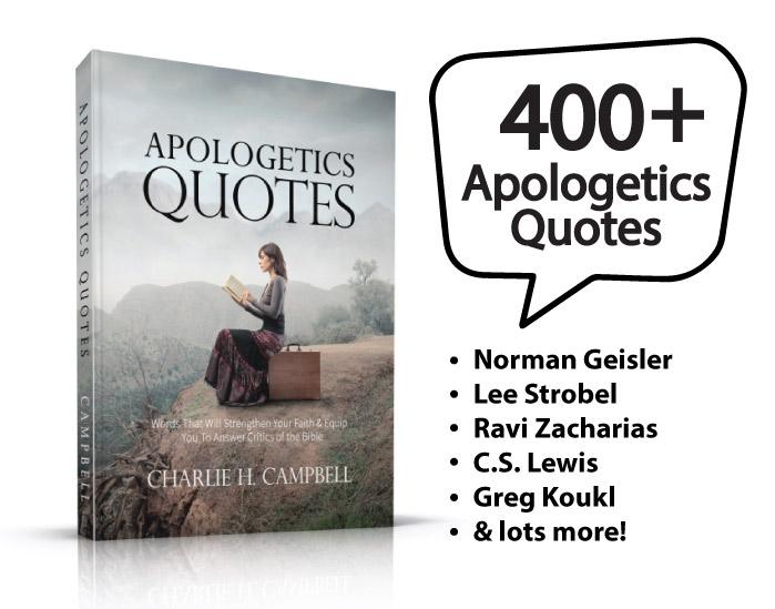 Quotes apologetics Book