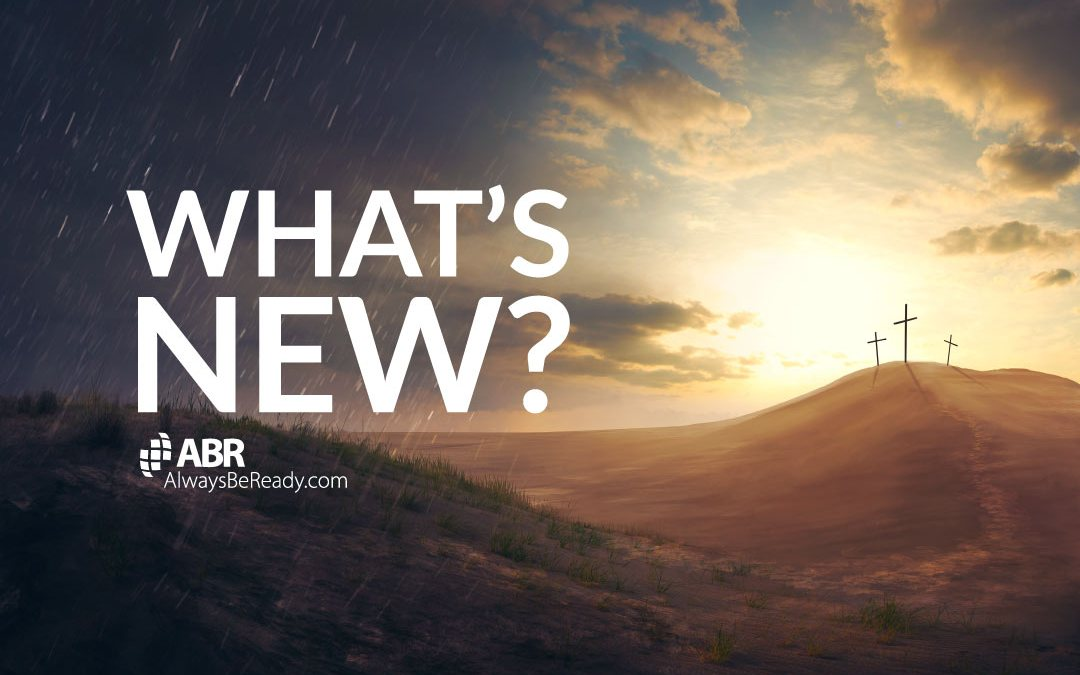 What's new on the ABR Apologetics website?