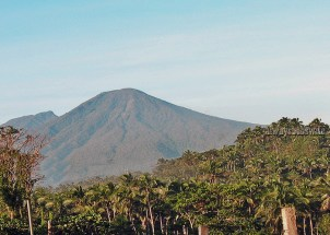 a spectacular view of the mystical Mt. Banahaw