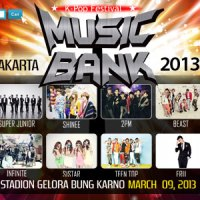 Fakta - Fakta Konser Music Bank In Jakarta 2013