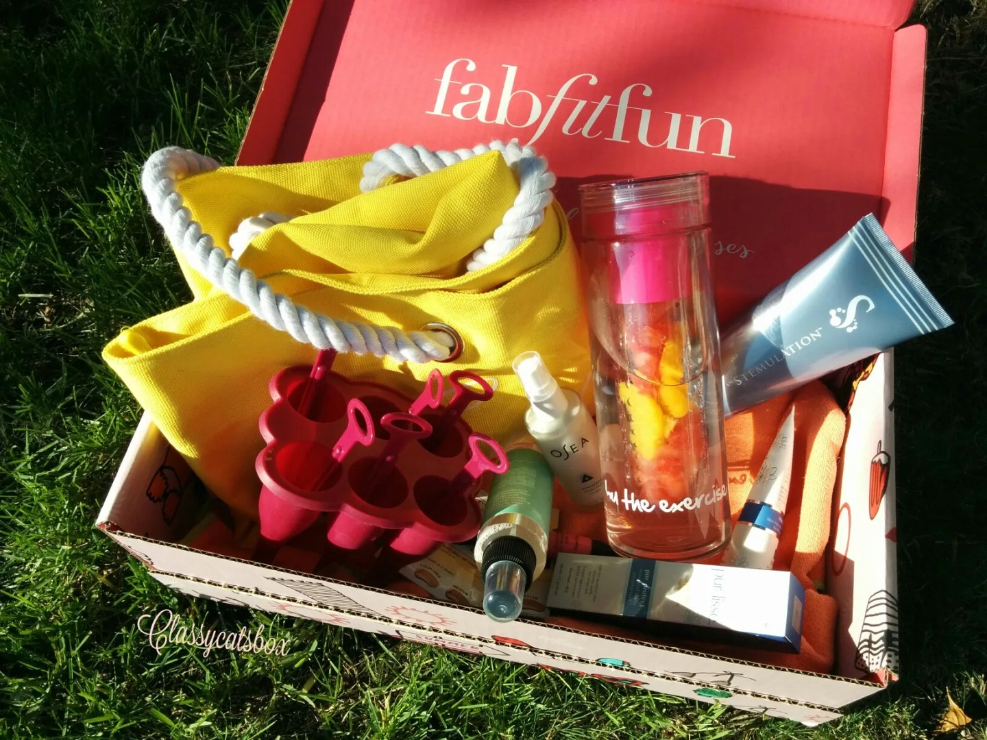 Fabfitfun 2016 Summer Subscription Box Review