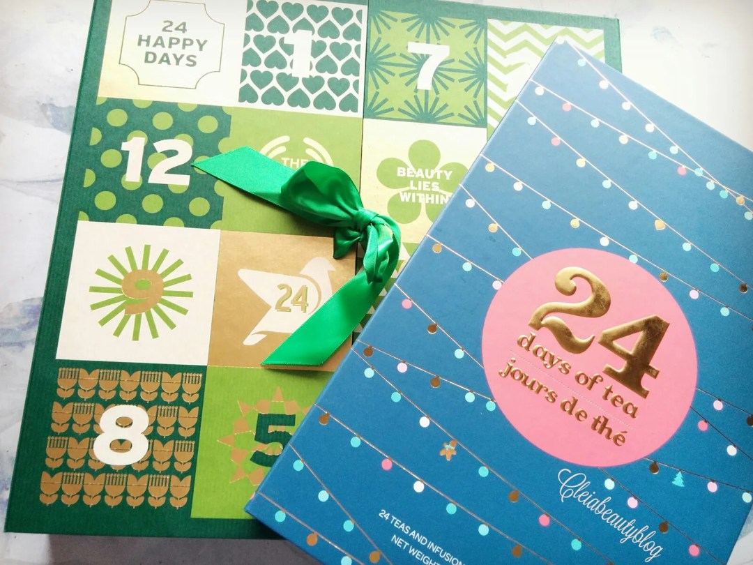 The Body Shop Advent Calendar + David's Tea Advent
