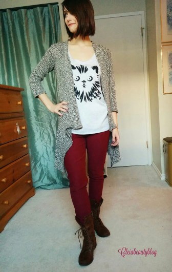 December Just Fab Jeggings