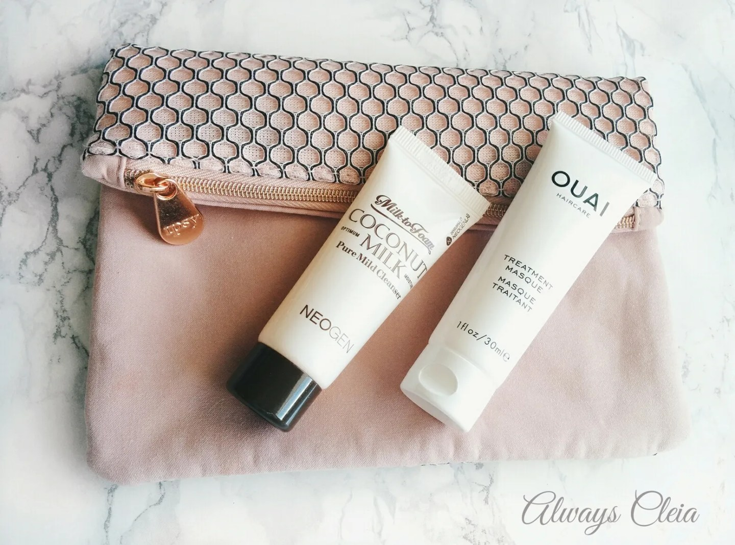 2017 March Ipsy Glam Bag - Neogen & Ouai