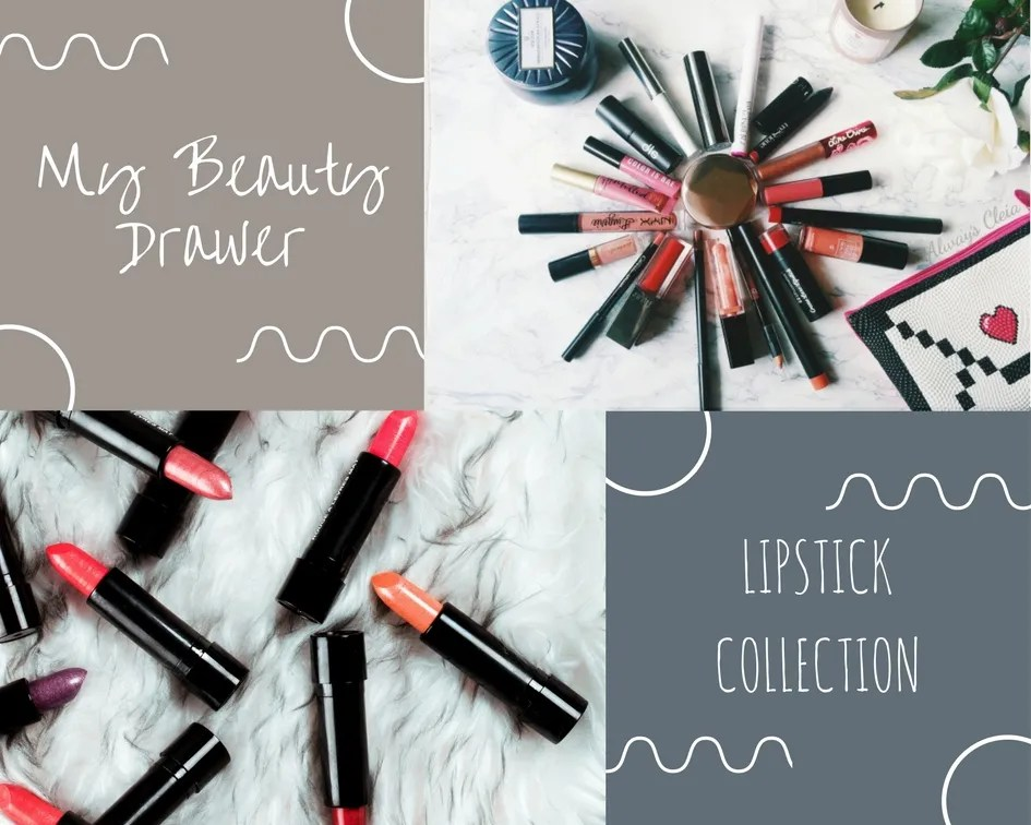 Beauty Drawer: My Lipstick Collection