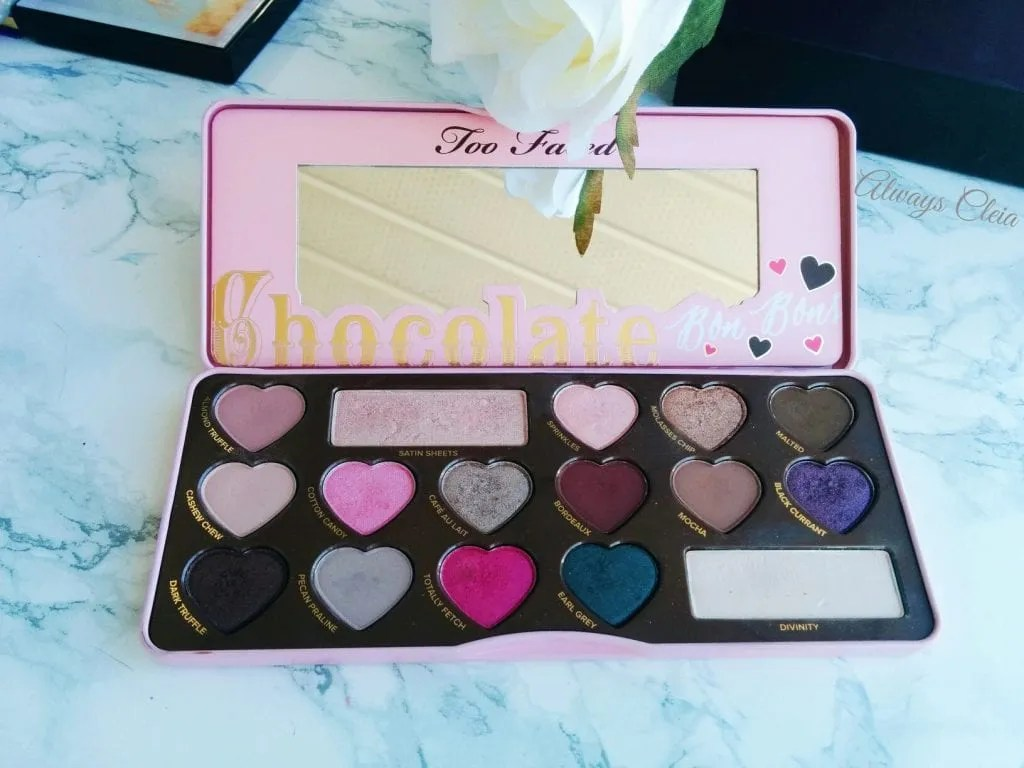 My Beauty Drawer: Eyeshadow Palettes Chocolate Bon Bons