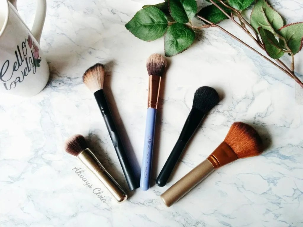 Makeup Brush Collection: Face Brushes