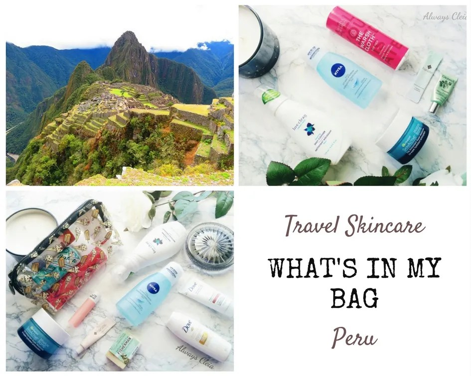 What's In My Bag ~ Travel Skincare & Hair Routine