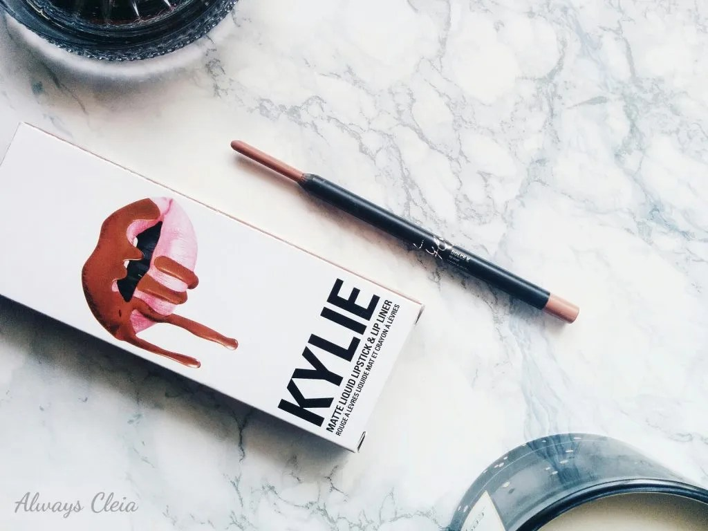 Kylie Matte Lip Kit in Dolce K - Lipliner