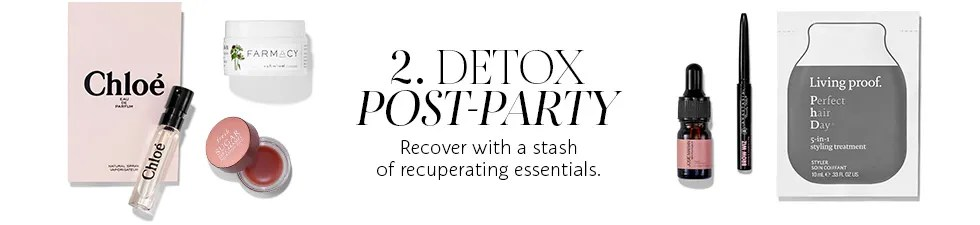 Detox Post Party Sephora samples