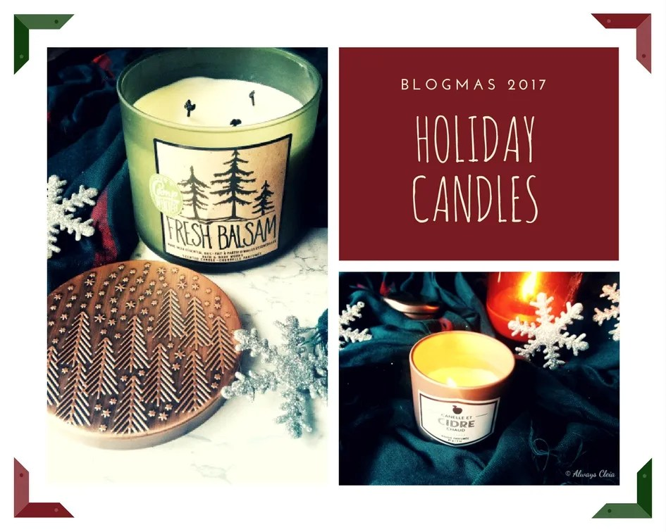 Favourite Holiday Candles