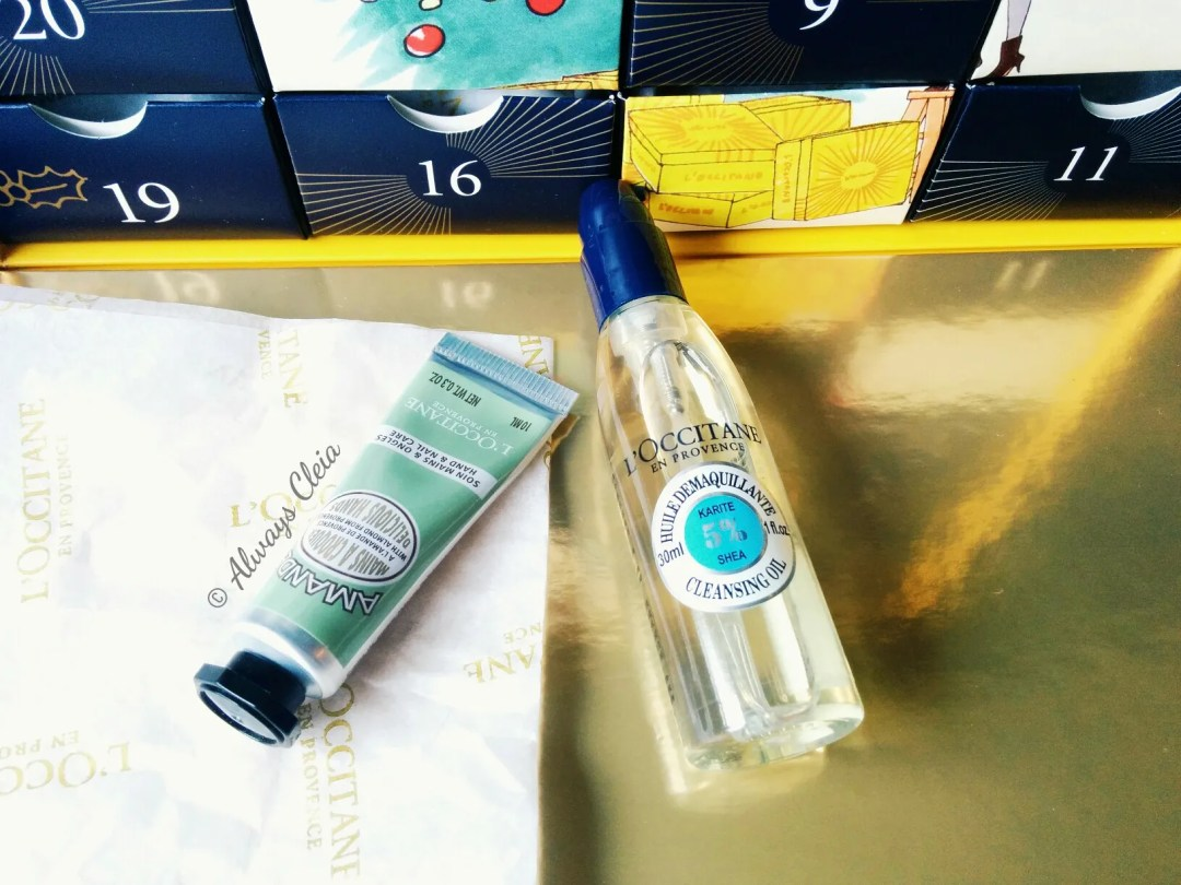 L'Occitane 2017 Luxury Beauty Advent Calendar Almond Hand Cream and Shea Cleansing Oil