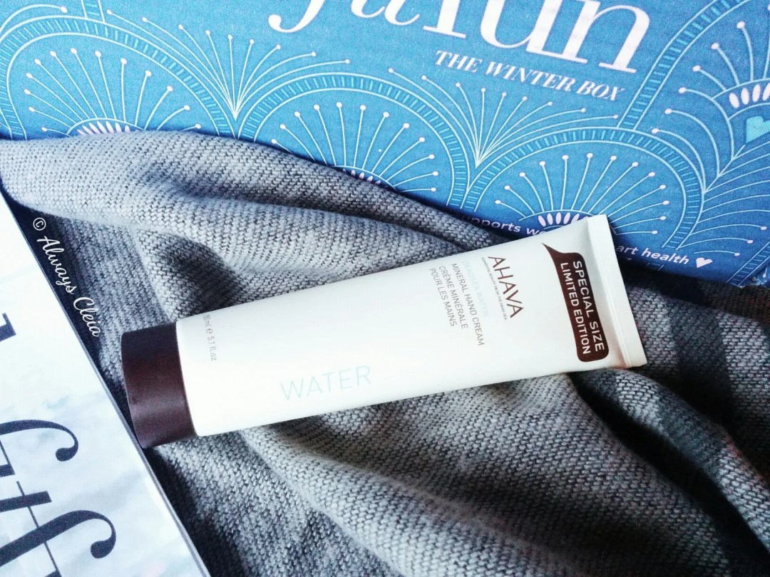 Ahava Mineral Hand Cream FabFitFun Winter Box