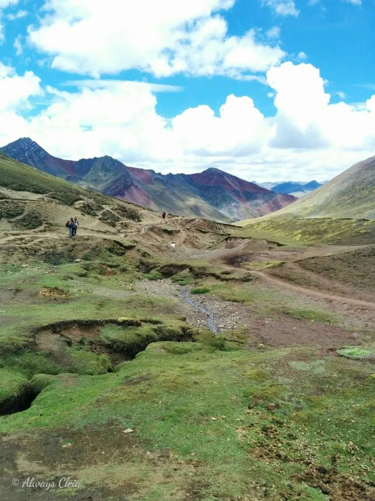 Rainbow Mountain Valley Peru