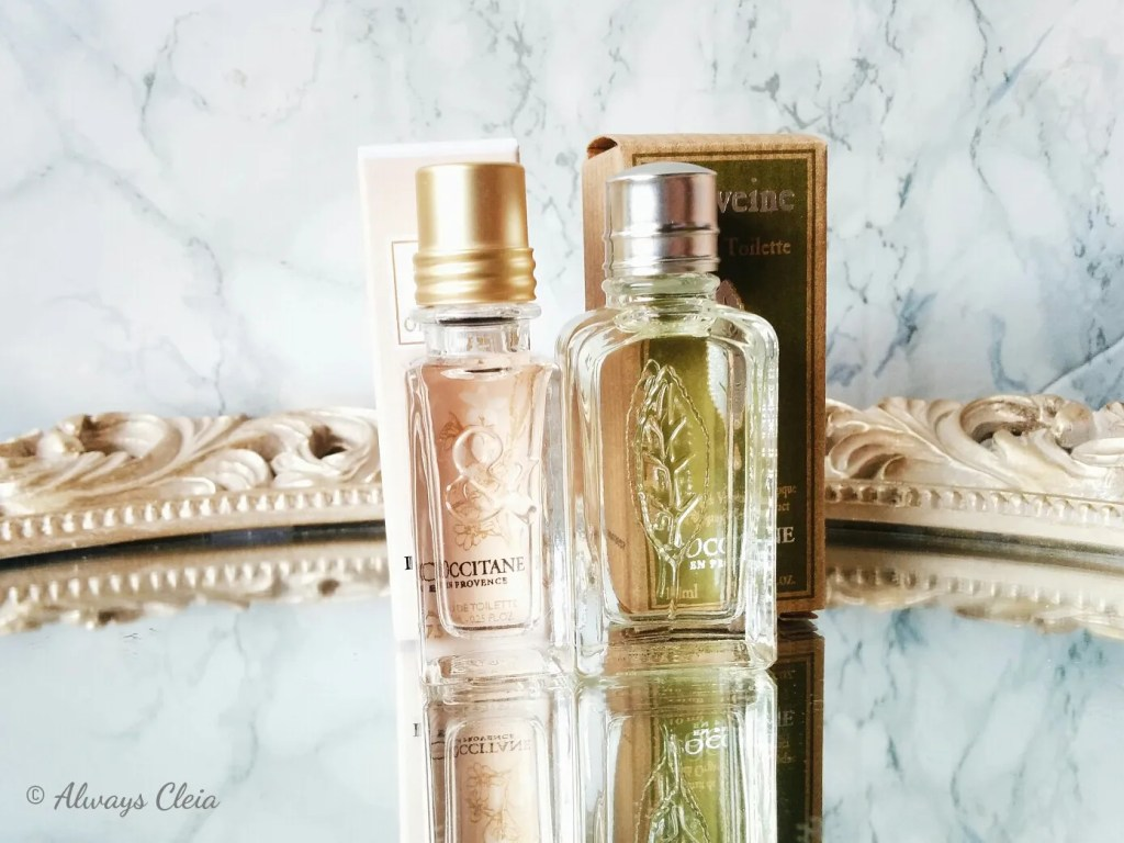 L'Occitane Neroli & Orchid and Verveine Fragrance