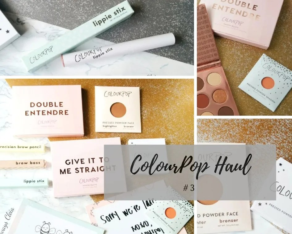 Yes I'm Addicted To ColourPop Haul #3!