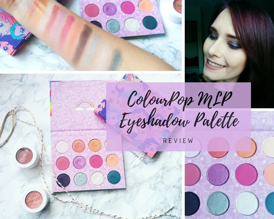 ColourPop My Little Pony Palette | Review + 3 Looks
