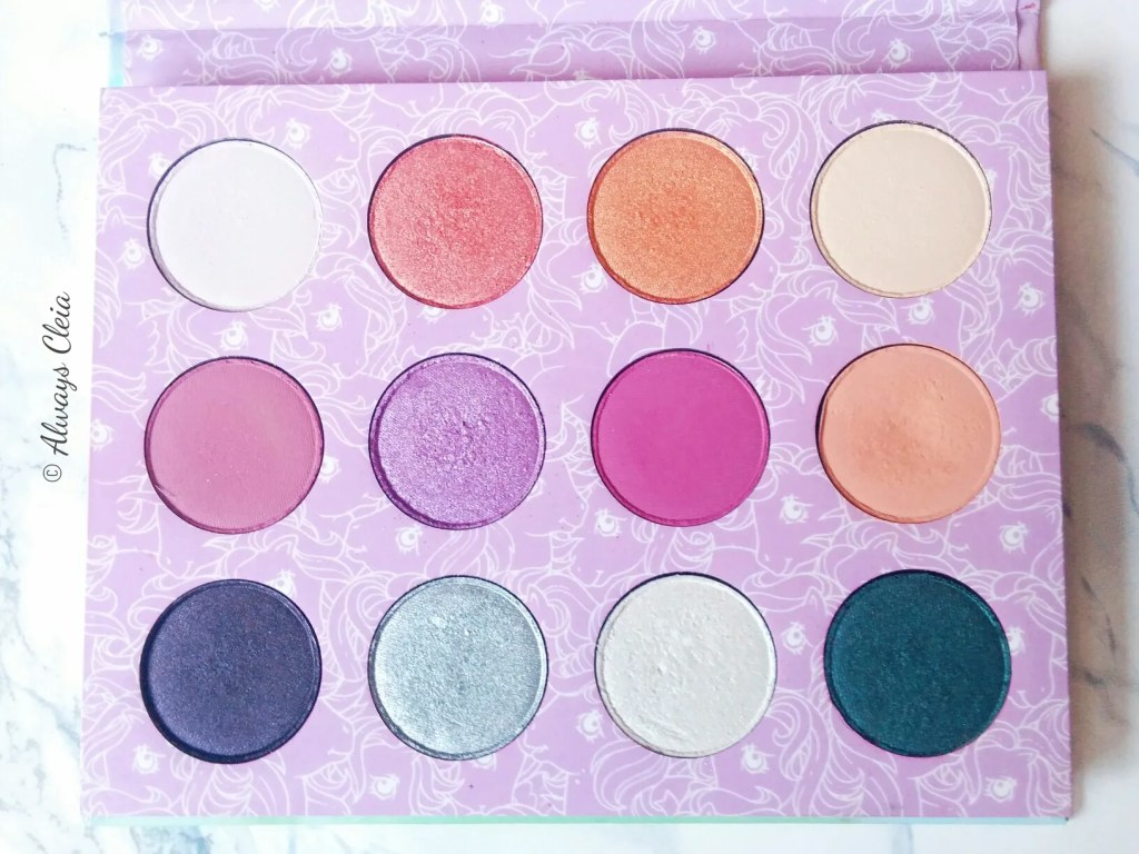 ColourPop My Little Pony Palette Colour Story