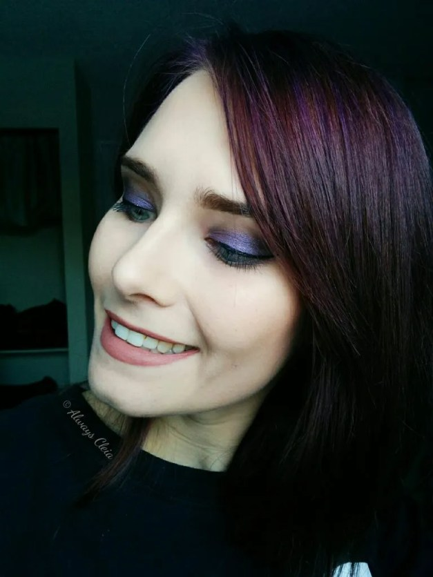 ColourPop My Little Pony Palette Purple Rain Makeup Look