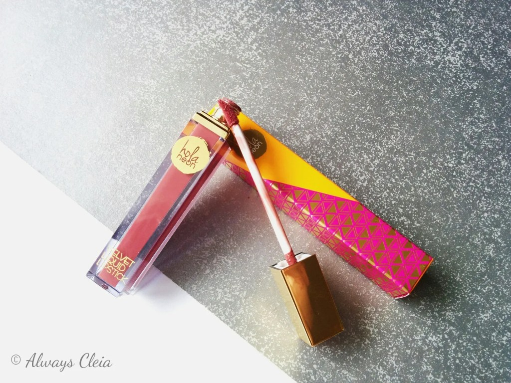 Hola Neon Velvet Liquid Lipstick Review DF