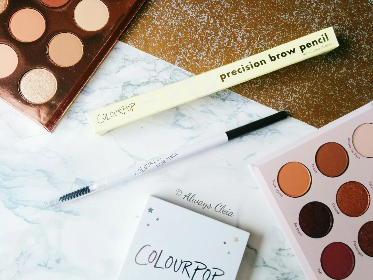 ColourPop Haul #3 - Precision Brow Pencil