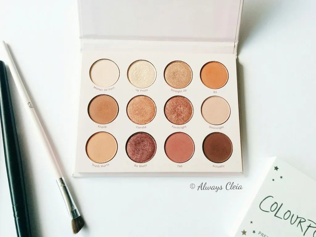 ColourPop Give It To Me Straight | First Impressions