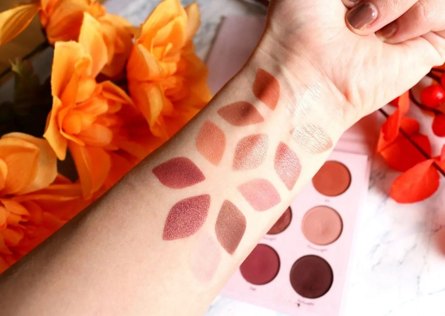 Give It To Me Straight Swatches