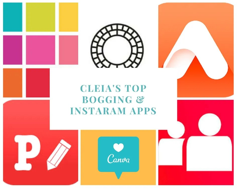 My Top 6 Bogging & Instaram Apps (1)
