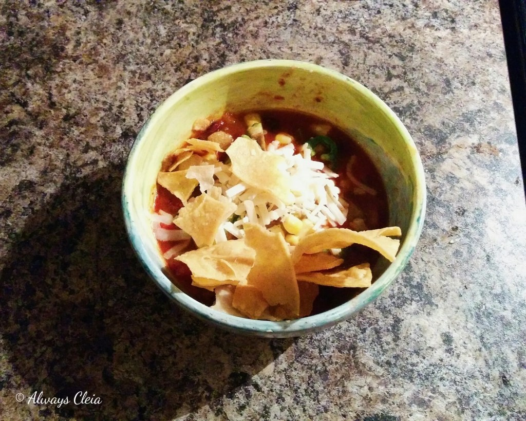 Hello Fresh One Pot Tortilla Soup