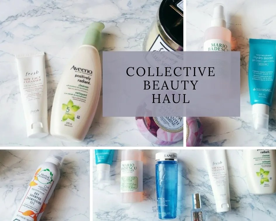 January to March Collective Beauty Haul