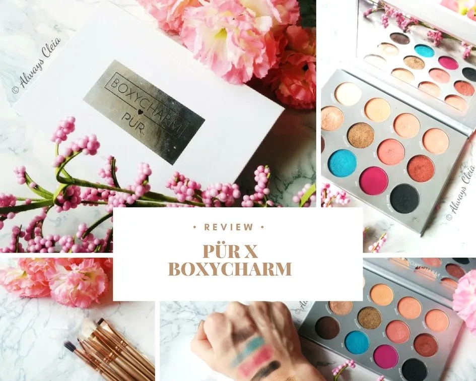Pür X Boxycharm Palette Review + 3 Looks