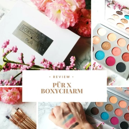 Pür X Boxycharm Eyeshadow Palette Review