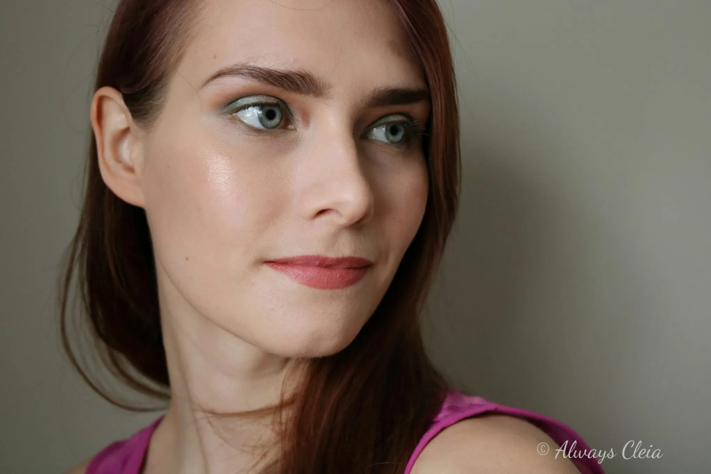 Beauty Scene Makeup | Green With Envy