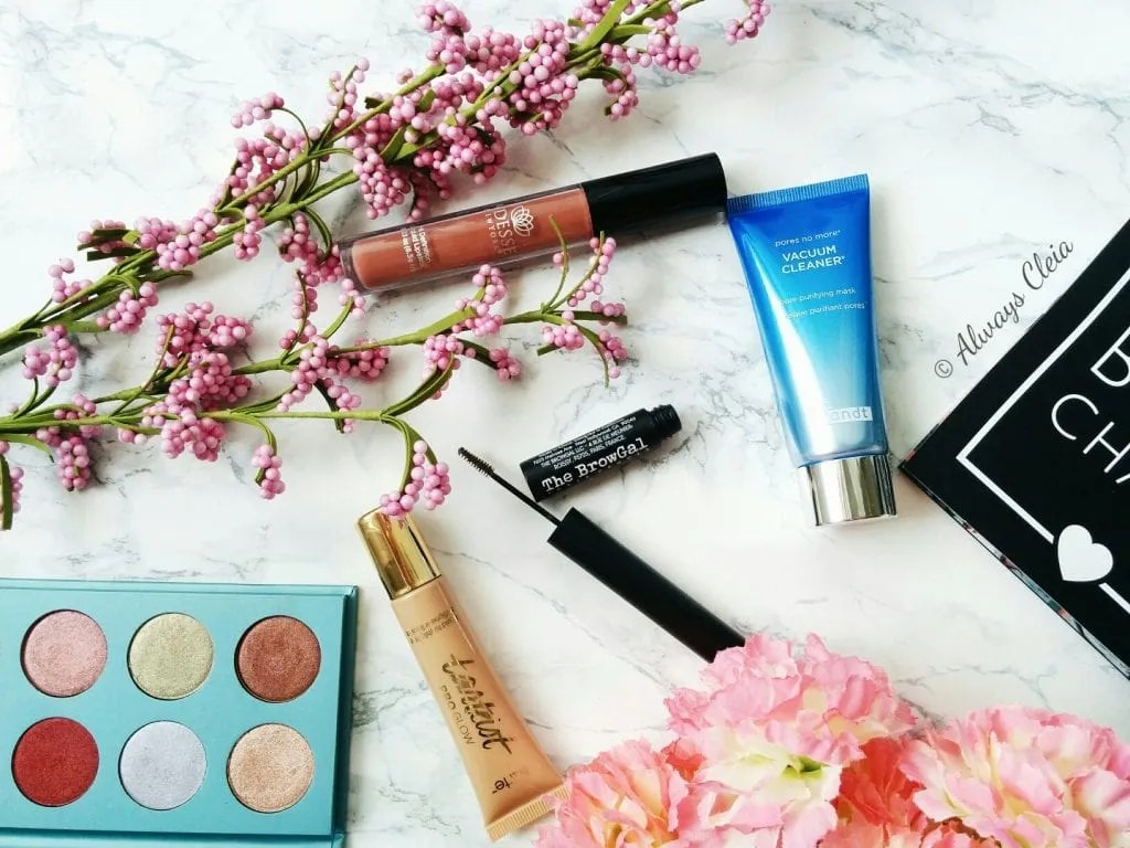 Everything in my April Boxycharm!