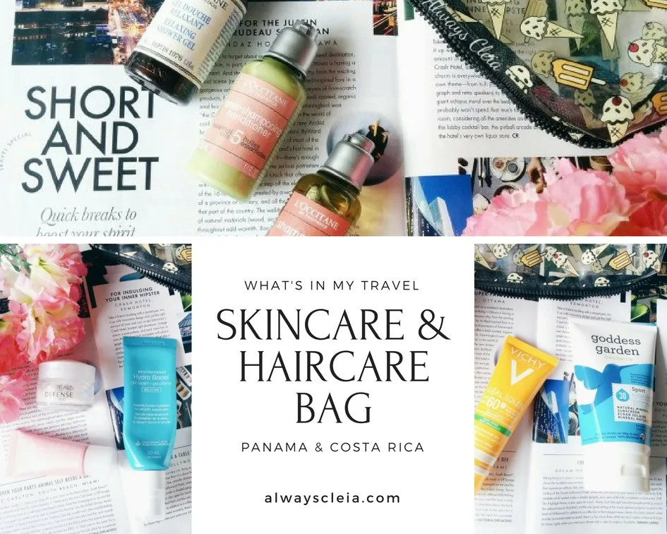 Panama Travel Skincare & Haircare
