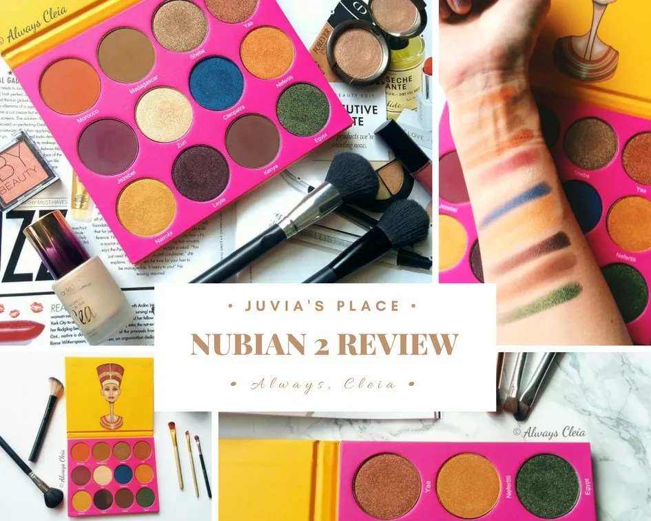 Juvia's Place Nubian 2 Palette Review