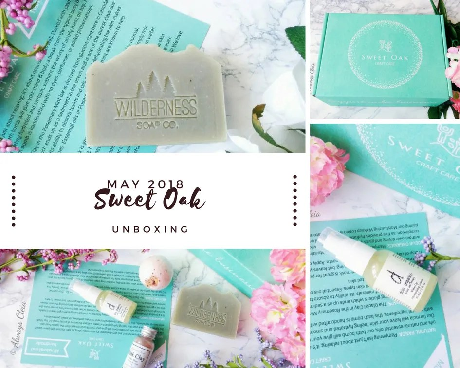 May Sweet Oak Craft Care Body Care Subscription Box Review