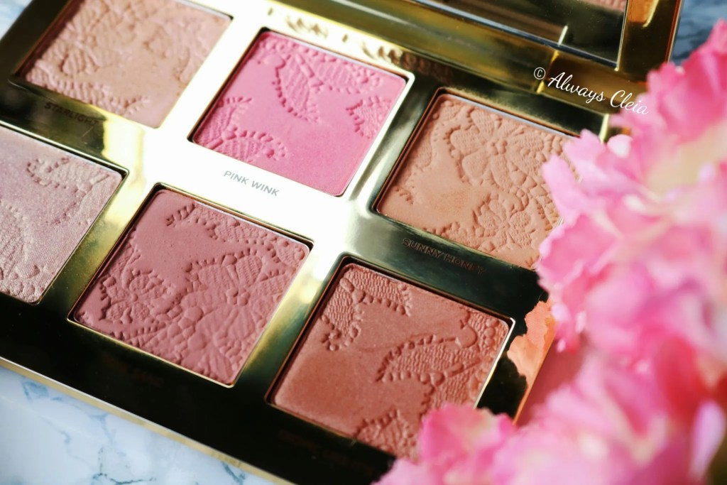 Too Faced Natural Face Palette Floral Pan Design