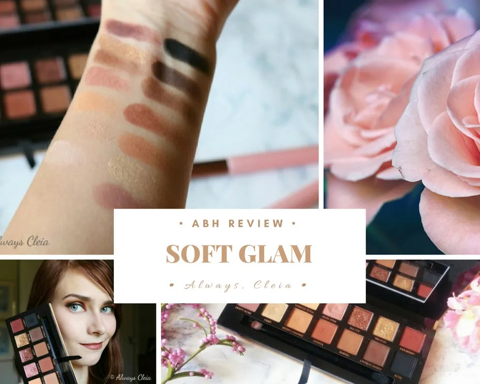 ABH Soft Glam Palette Review + 3 Looks