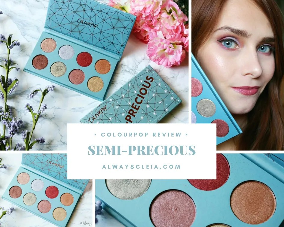 ColourPop Semi-Precious Palette Review + 3 Looks