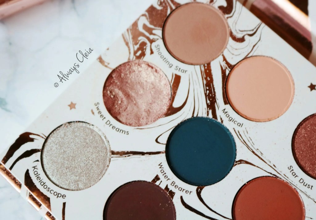ColourPop Dream St. Palette Colour Story