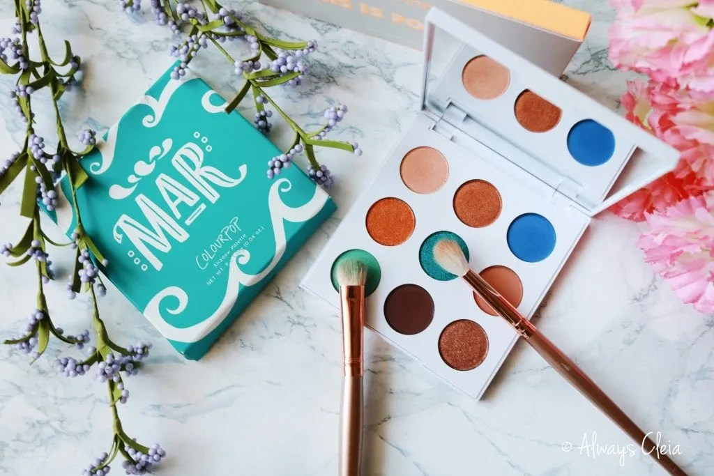 ColourPop MAR Pressed Powder Palette Review