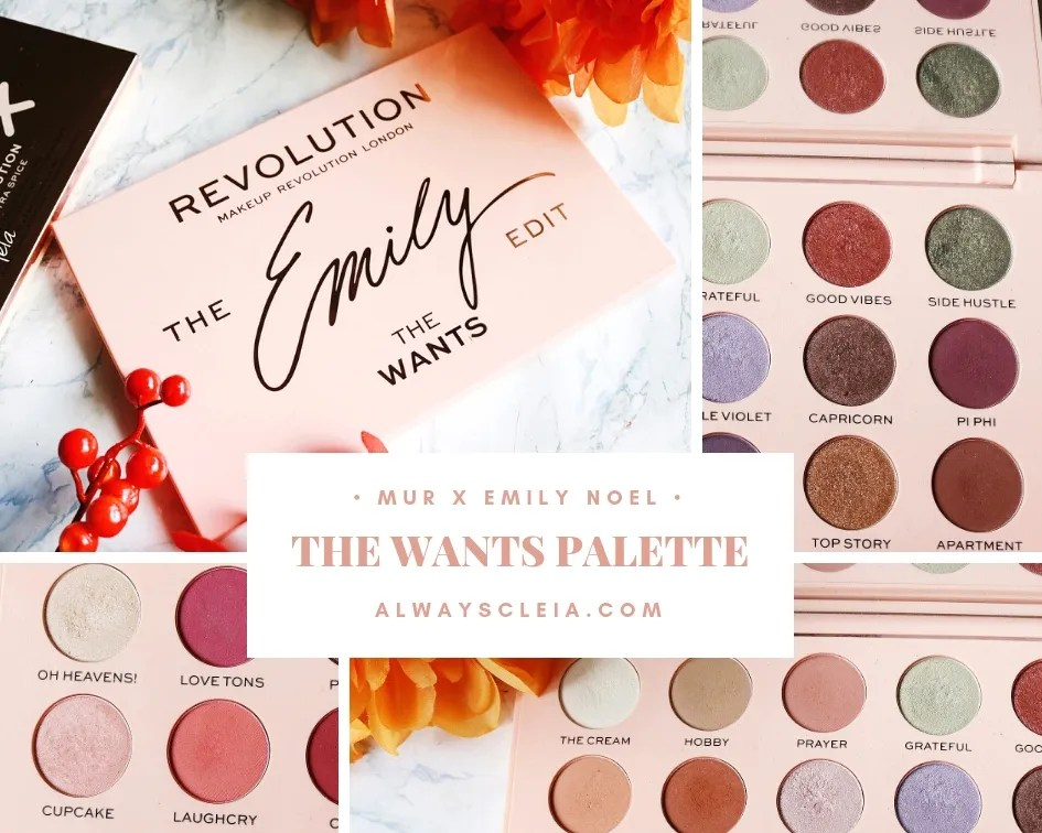 Emily Noel The Wants Palette Review