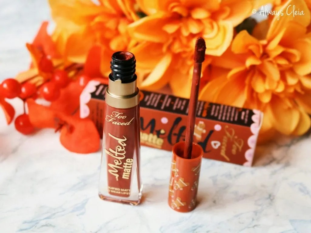 Fall Sephora Haul | Too Faced Gingerbread Girl Melted Matte Liquid Lipstick