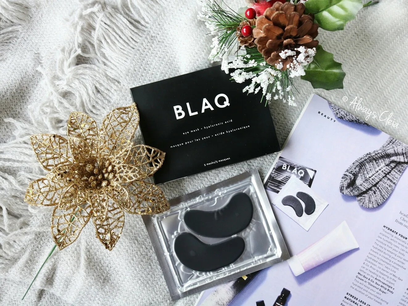 Fabfitfun Winter Blaq Hydrogel Eye Masks